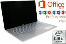 """ASUS VIVOBOOK F712 - INTEL CORE i7 - SSD + HDD - WIN 10 - OFFICE - 17.3"""" MATT"""