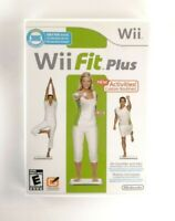 Wii Fit Plus (Nintendo Wii, 2009) VG Condition, Complete w/ manual, CIB, TESTED