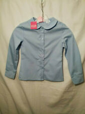 New listing Cotler Girls Dress Shirt (Official School Wear) Color Blue Size 6x Nwt