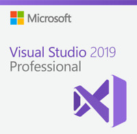 Microsoft Visual Studio Professional 2019 with MSDN 2/Years Subscription