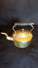VM29) William Souter Sons kettle - makers mark clear to base Victorian FAB