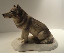 Sandicast Snow Wolf Figurine / Sculpture #301 Sandra Brue