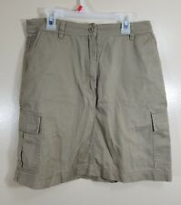 Ralph Lauren LRL Women's Khaki Cargo Skirt Size 6