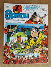 SPIROU N°2116 / DU 02 NOVEMBRE 1978 / AVEC SUPPLEMENT KIM NORTON  / B+.