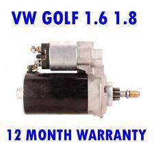 FITS VW GOLF 1.6 1.8 1982 83 1984 1985 1986 - 1993 REMANUFACTURED STARTER MOTOR