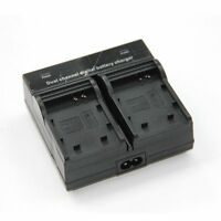 Dual Channel Battery Charger NB-10L For Canon Powershot G15 G16 G1X SX50 SX40 HS
