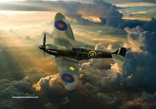 More details for supermarine spitfire,canvas prints various sizes free delivery