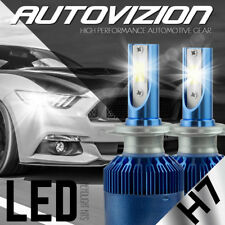 Car COB H7 C6 38800LM 388W LED Headlight Kit Hi/Lo Turbo Light Bulbs 6500K