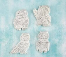 Prima Shabby Chic Treasures Ingvild Bolme Resin Embellishments OWLS 892593