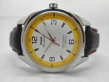 genuine hmt pilot hand winding men's steel vintage india made watch run order-ne