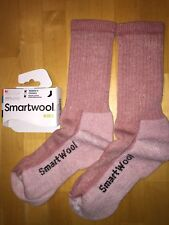 SmartWool HIKE Midweight Crew Socks – Meadow Mauve, Outdoor Backpack – Women MED