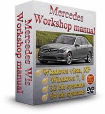 Mercedes Electrical Wiring Diagrams & Schematics + WIS & EPC + Repair Manual DVD