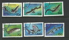 1993 Sharks Part Set of 6 Complete Used as per Scan