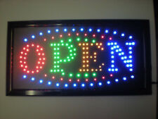 Animated Open Led Sign Neon Light With On And Off Button