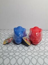 2 Ryan's World Dino Universe Light-Up Dino Surprise Toys Ages 3+ Red & Blue New