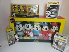 Mickey The True Original -90 Years of Magic, 5pack plush,2 POPS, 2 FIGURINE SETS