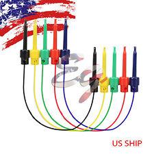 5 pairs Wire Kit Test Hook to Hook Clip Grabbers Probe Multimeter, Arduino