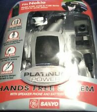 NOKIA RAPID CAR CHARGER & HANDS FREE KIT ACCESSORY 5100 6100 7100 NEW SANYO
