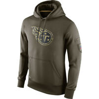 Tennessee Titans Hoodies Men's Sweatshirts Salute to Service Sideline Pullover