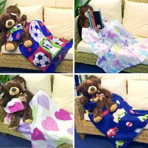 New Soft Sleeves Pocket Fleece Kids TV Blanket Snuggle Cosy Wrap Christmas gift