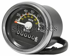 Reproduction MPH & KPH Speedometer suitable for use with Monkey Bike Motorcycles