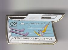 RARE PINS PIN'S ..  SPORT WINDSURF PLANCHE A VOILE BANQUE CA CREDIT AGRICOLE ~DR