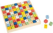 Buntes Sudoku Educate aus Holz Denkspiel Zahlenspiel Sudokuspiel Brettspiel Neu