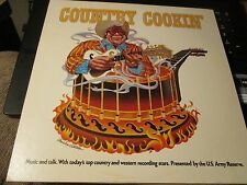 Country Cookin'-Music and Talk-2 LPs-C Twitty,D Kershaw,B Bare,V Fletcher-Exc.