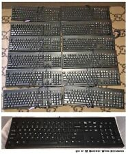12 Gateway Keyboard Model #KB-2961 Black Wired