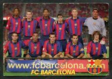 FC BARCELONA - SQUADRA di CALCIO - FÚTBOL - SPORT Cartolina Postcard