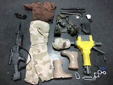 """1/6 Military 12"""" Uniform Clothing Accessories Lot For GI Joe Or Other Fig 082"""