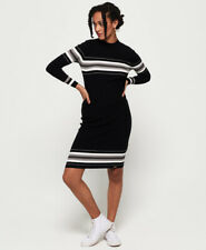 Superdry Womens Hallie Stripe Midi Dress