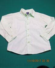 Arrow Youth Boys Dress Shirt 6 Light Mint Spring Green Long Sleeve Button Collar