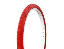 "1-24x1.75"" RED SLICK BMX MOUNTAIN BIKE BICYCLE DURO TIRE #262395"
