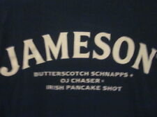 NWOT - JAMESON IRISH WHISKEY SHOT Green Adult XL Double-Sided Short Sleeve Tee