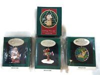 Hallmark Collectible Keepsake Miniature Ornaments Lot of 4