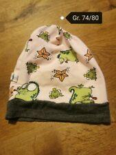Handmade Mütze Frosch Gr. 74/80