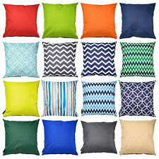 """More details for waterproof outdoor scatter cushion pad filled 18""""(45cm) seat bench garden pillow"""
