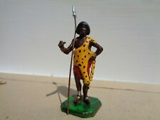 Rose, Zulu African Warrior  54mm painted lead soldier