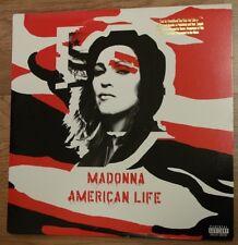 American Life [Single] [12 inch Vinyl Disc] by Madonna (2 LP VINYL PROMO STICKER