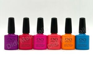 CND Shellac UV Gel Polish .25 oz - SUMMER CITY CHIC COLLECTION 2021 NEW!