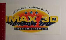 Pegatina/sticker: IMAX 3d museo Sinsheim (180317100)