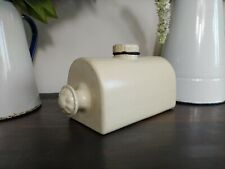 More details for stone hot water bottle yorkshire rose england cream prop display home