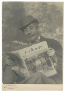 Acteur SUISSE LOT 4 PHOTOS Originales Georges DIMERAY 1895 1964