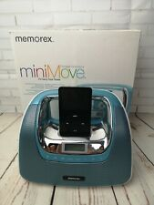 Memorex Mini move, Boombox with remote, boxed, retro music, mp3