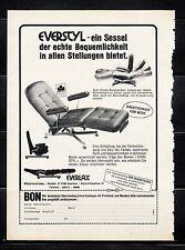 3w725/ Alte Reklame - von 1979 - EVERSTYL - Sessel der echten Bequemlichkeit