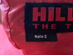 Hilleberg NALLO 2 - rotes Tunnelzelt Zelt NEU