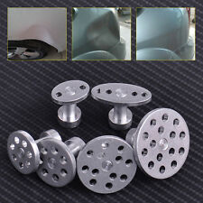 6x Aluminum pdr Glue Pulling Puller Tabs Car Dent Hail Repair Tools Paintless