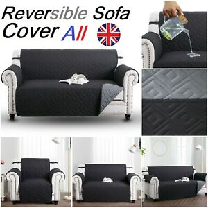Quilted Sofa Covers Anti Slip Couch Throw Waterproof Pet Furniture Protector