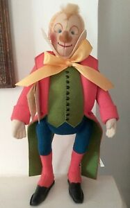 Nosa, Sarrasani Circus Clown, Rare Steiff Felt Doll Replica Of 1910 Orig 412042